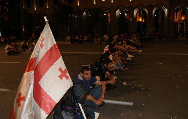 У Грузії поновилися протести