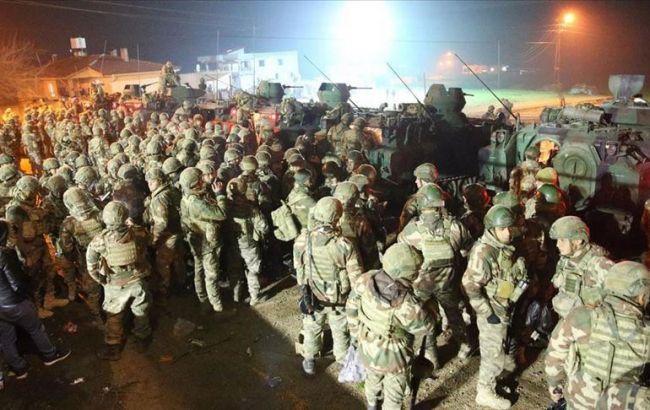 Турция перебрасывает спецназ в Идлиб