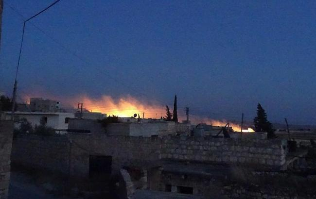 Убийцы РФ сбросили фосфорные и кассетные бомбы на жилые районы Сирии