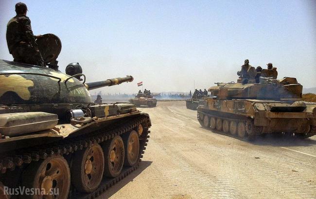 Сирійська армія знищила 40 бойовиків ІДІЛ в боях за Пальміру