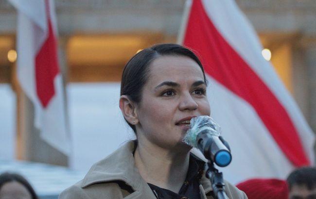 Тихановская призвала Сенат США одобрить санкции против Беларуси