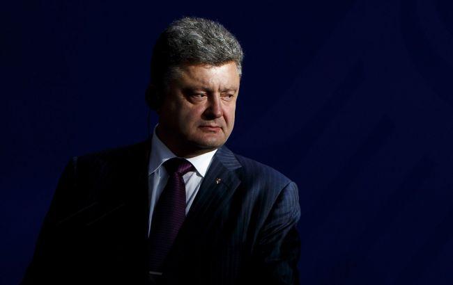 Порошенко: Закон об захваченных территориях подарит районы ОРДЛО Путину