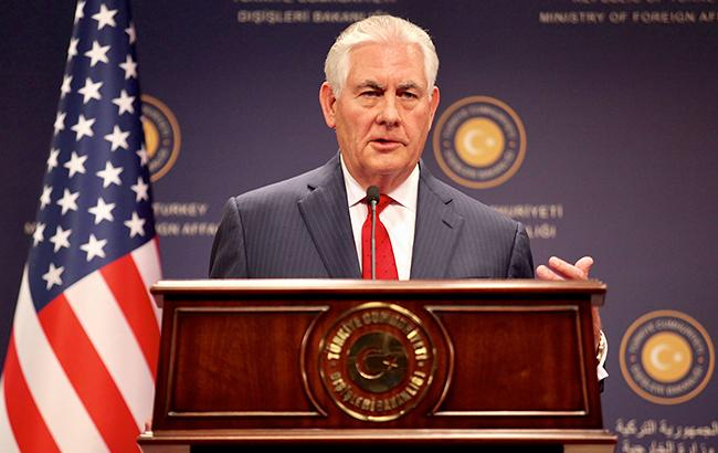 Фото:  Рекс Тиллерсон (Государственный департамент США)