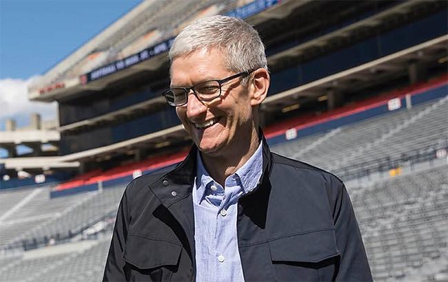 Глава Apple заработал 102 млн долларов за 2017 год