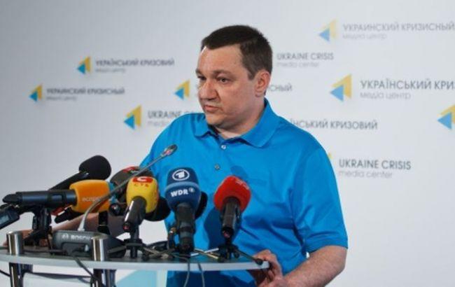 """Фото: координатор группы """"Информационное сопротивление"""" Дмитрий Тымчук"""