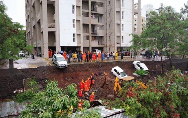 В Индии в результате проливных дождей погибли 30 человек
