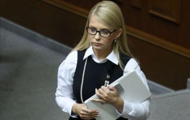 Пока Тимошенко крестила внучку, еекарточка работала вРаде