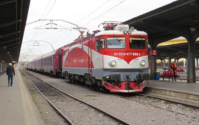 Фото: румынский поезд (tipmf/LiveJournal)