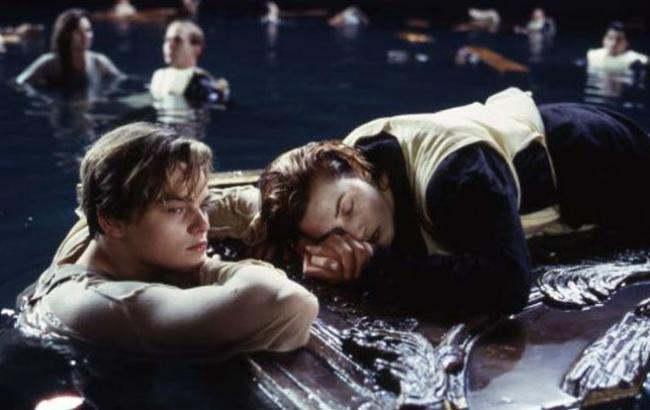 "Фото: Кадр из фильма ""Титаник"""