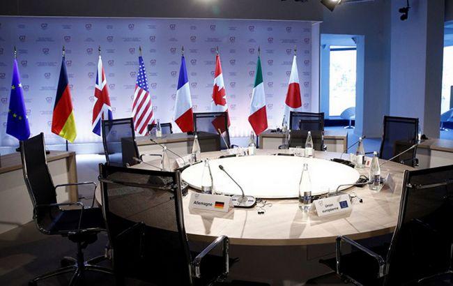 Посли G7 підтримали санкції проти трьох каналів