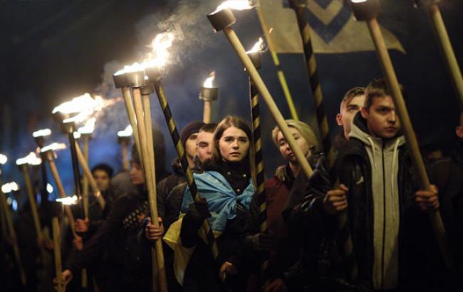 Фото: Марш Нації (Віталій Носач, РБК-Україна)