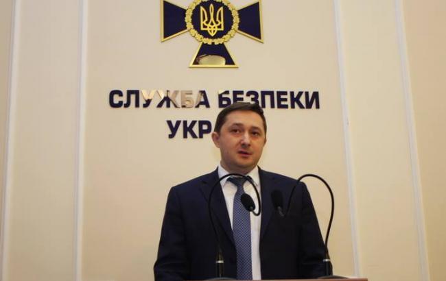 Фото: начальник Аппарата председателя Службы безопасности Украины Александр Ткачук