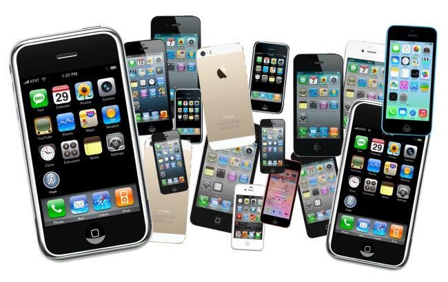 Фото: контрабанда смартфонів виробництва компанії Apple в Україні (GigaOm)