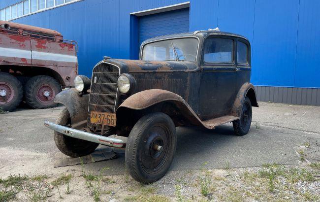 В Киеве нашли уникальный автомобиль довоенного времени (фото)