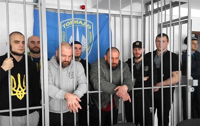 """Суд над бойцами """"Торнадо"""" проходит в закрытом режиме"""