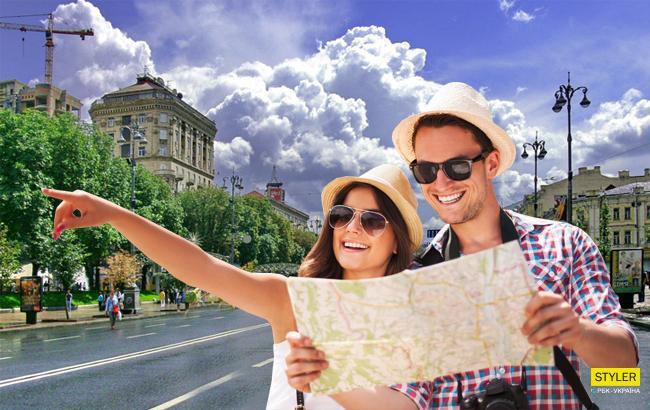 Фото: Туристы (Коллаж РБК-Украина)