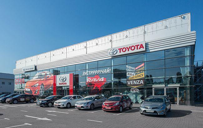 В прошлом году украинцы больше покупали автомобили Toyota