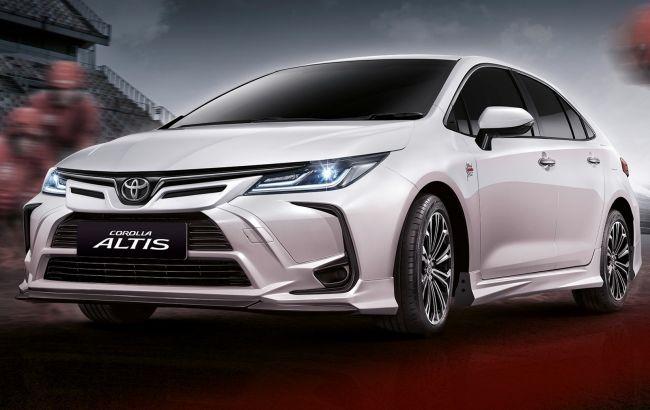 Седан Toyota Corolla отримав спецверсію на честь легендарної гоночної траси