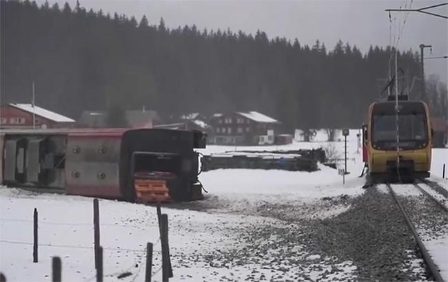 Фото: место происшествия (скриншот с видео)