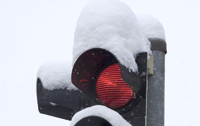 ВЧехии столкнулись неменее 30 авто из-за непогоды