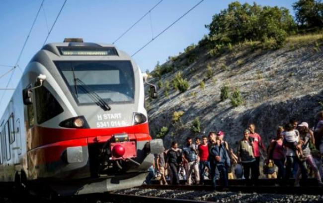 Фото (ЕРА): мигранты в Европе
