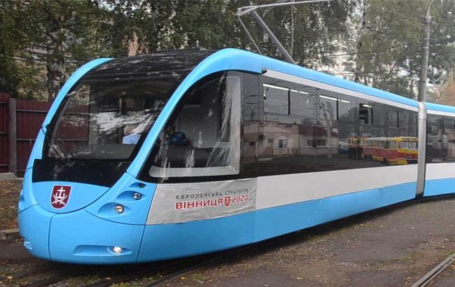 ВВиннице презентовали новый «Трамвай будущего» на306 пассажиров