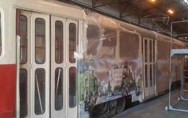 Ко Дню Киева в столице запустят арт-трамвай