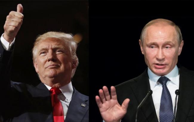 Фото: Дональд Трамп і Володимир Путін