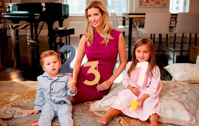 Фото: Иванка Трамп с детьми