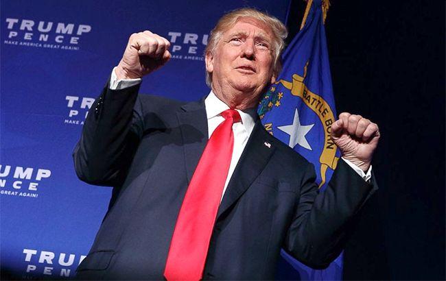 Фото: выступление Трампа состоялось после объявления о победе на выборах в США