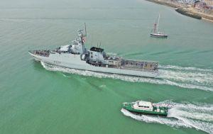 В Черное море зашел британский военный корабль Trent. Он направляется в Одессу