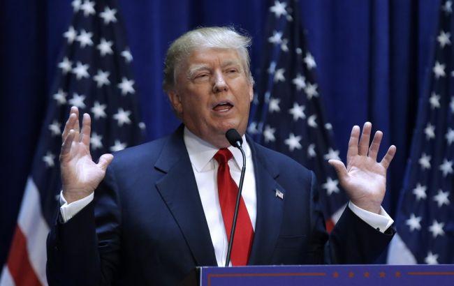 Фото: кандидат в президенты США от Республиканской партии Дональд Трамп
