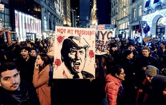 Протесты вВашингтоне: количество задержанных превысило 200