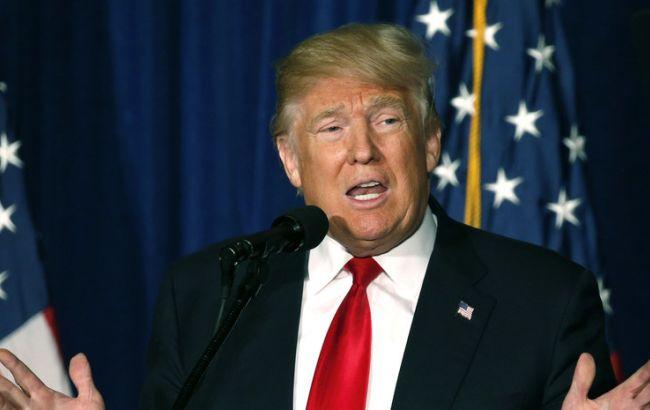 Фото: кандидат в президенты США Дональд Трамп