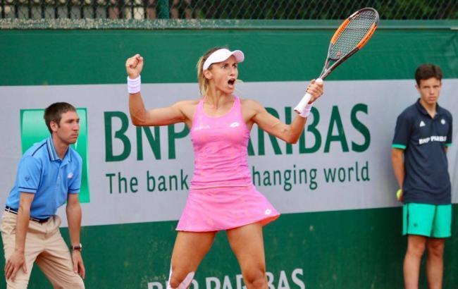 Украинская теннисистка Цуренко одолела россиянку наРолан Гаррос
