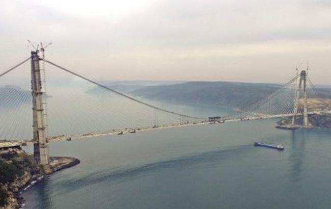 Фото: мост Селима Явуза строился три года и назван в честь султана