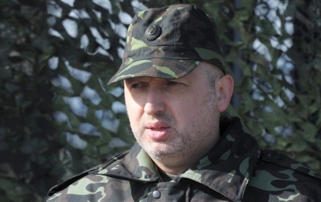 В зоні АТО за добу загинув 1 і поранено 16 військових, - Турчинов