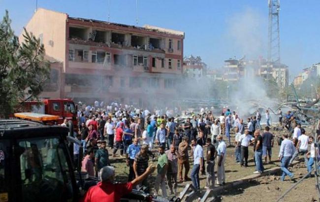 Фото: в Турции прогремел взрыв
