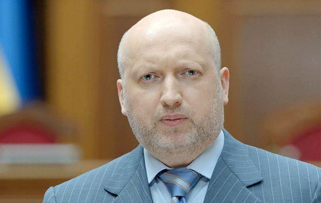 Фото: секретарь Совета национальной безопасности и обороны Украины Александр Турчинов