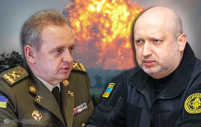 в чому полягає конфлікт начальника Генштабу та секретаря РНБО