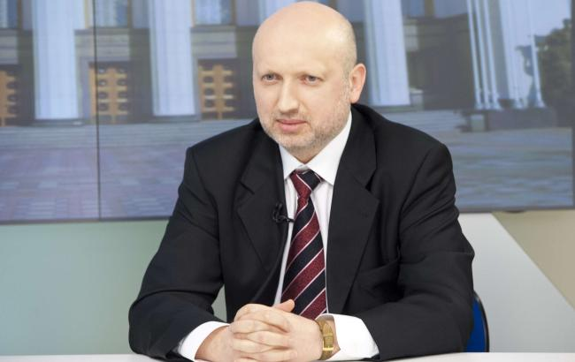 Фото: секретарь СНБО Александр Турчинов