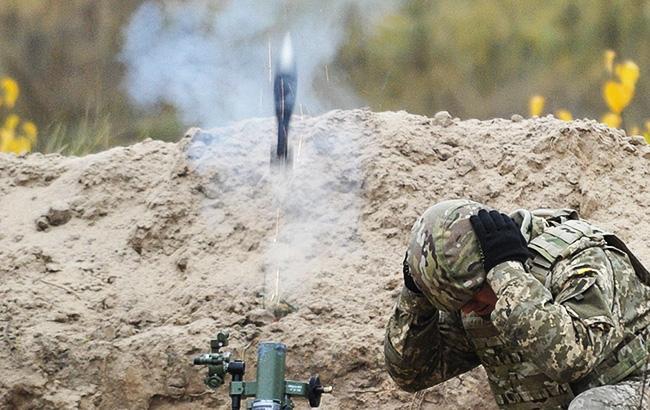 Фото: на Донбассе обстреляли населенные пункты (turchynov.com)