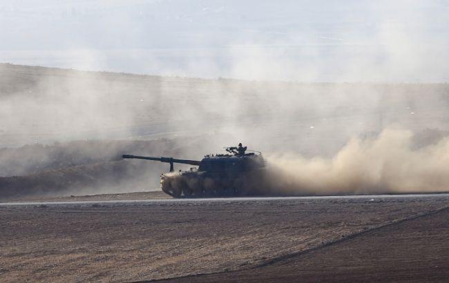 Фото: танк в Сирии