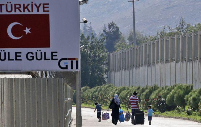 Фото: турецко-сирийская граница