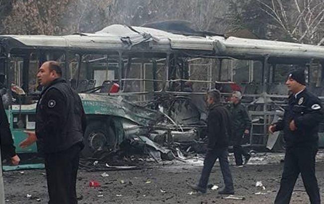 ВТурции около университета взорвался автобус с военнослужащими, есть жертвы