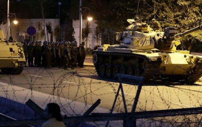Фото: військовий переворот у Туреччині