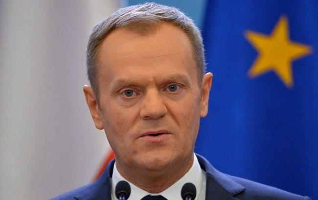 Фото: санкции против РФ, по словам Дональда Туска, продлят в декабре