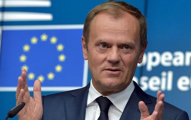 d64a645bd4f0c0 Президент Європейської Ради Дональд Туск під час самміту в Брюселі заявив,  що економічні санкції щодо Російської Федерації прив'язані до повного  виконання ...