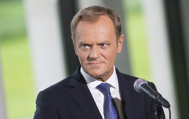Туск назвав вибори президента РФ в анексованому Криму причиною санкцій ЄС