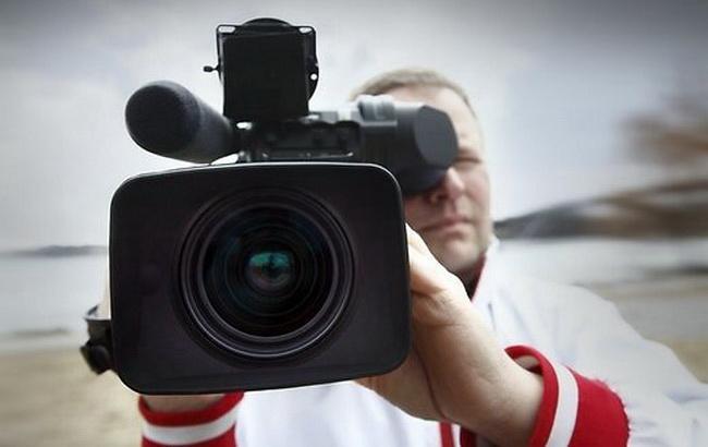 Фото: мовлення в зоні АТО (TVnews.by)